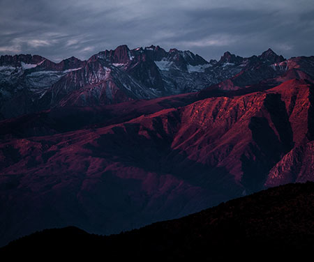Mountain Night View